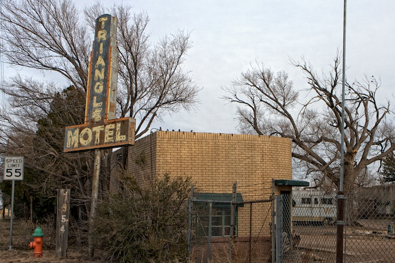 Classic neon signs in Amarillo  Best Road Trip Ever
