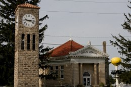 Altanta Public Library and Clock Tower