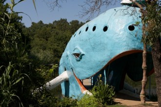 Route 66 in Oklahoma, The Big Blue Whale