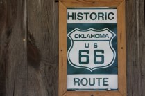 Route 66 in Oklahoma