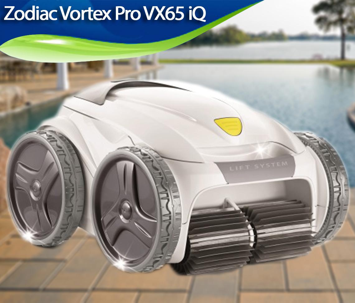 Zodiac Vortex Pro Vx65 Iq Review Best Robotic Pool Cleaners