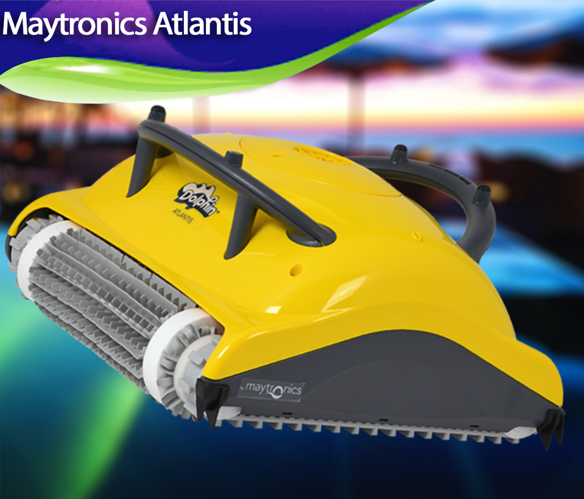 Maytronics Dolphin Atlantis Review Best Robotic Pool