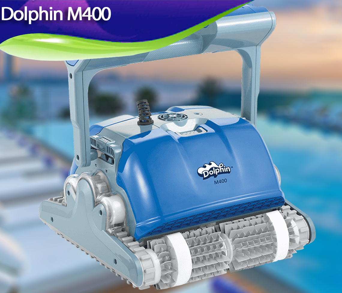 Dolphin M400 Review Best Robotic Pool Cleaners