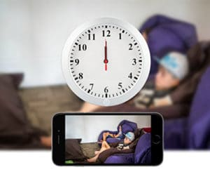 CAMXSW 1080P Wall Clock Spy Camera review
