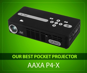 8cab22e353a23c Best Pocket Projectors (July 2018) - Buyer's Guide and Reviews