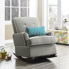 Nursing Glider Or Rocking Chair Hon Big And Tall Office Chairs The Best Upholstered 2018