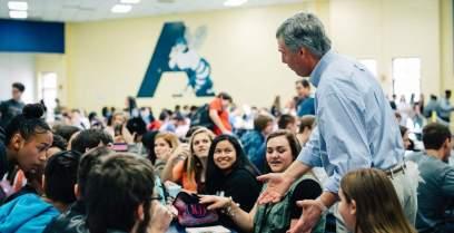 Congressman Tom Rice at Aynor High School