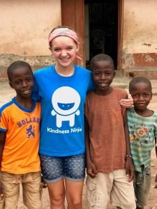 Forging new friendships at Vima Children's Home, Ghana