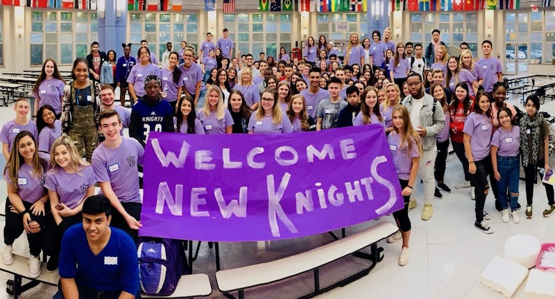 New Knights breakfast to welcome incoming transfer students
