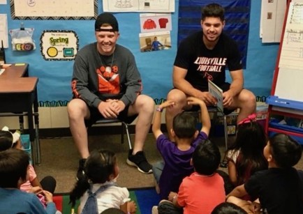 Promoting literacy at Steinbeck Elementary