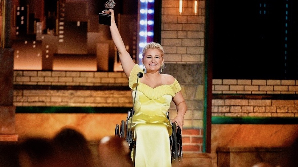 Ali Stroker dedicates historic Tony win to kids with diffabilities