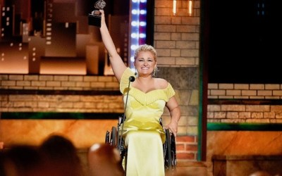 Ali Stroker Becomes First Person in a Wheelchair to Win a Tony Award