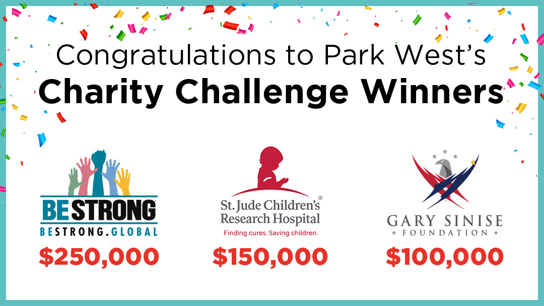 Be Strong Wins Big in Park West Gallery's $500,000 Charity Challenge