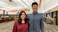 Kasi + Rohan, Be Strong's April 2020 Students of the Month