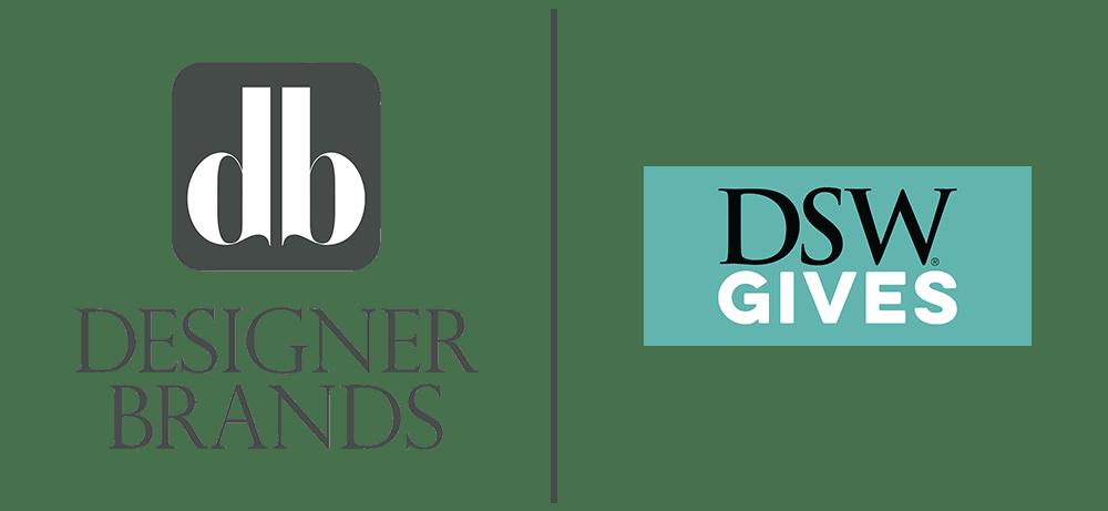 Be Strong Hero Partner » Designer Brands + DSW Gives Logos