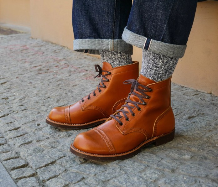 red wing roofing boots