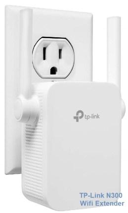 افضل مقوي واي فاي 2019 TP-Link N300 Wifi Extender