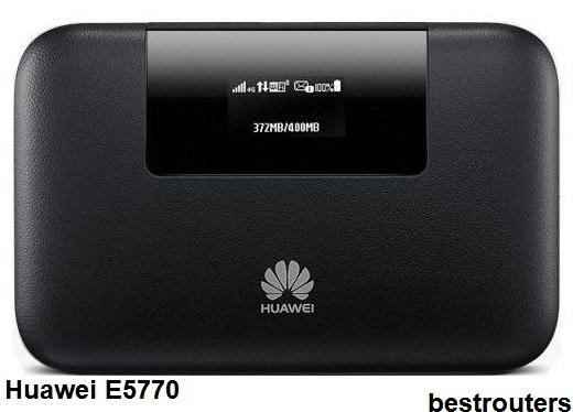 افضل راوتر متنقل 2019 راوتر Huawei E5770