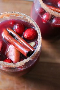 Cranberry Apple Sangria What Molly Made