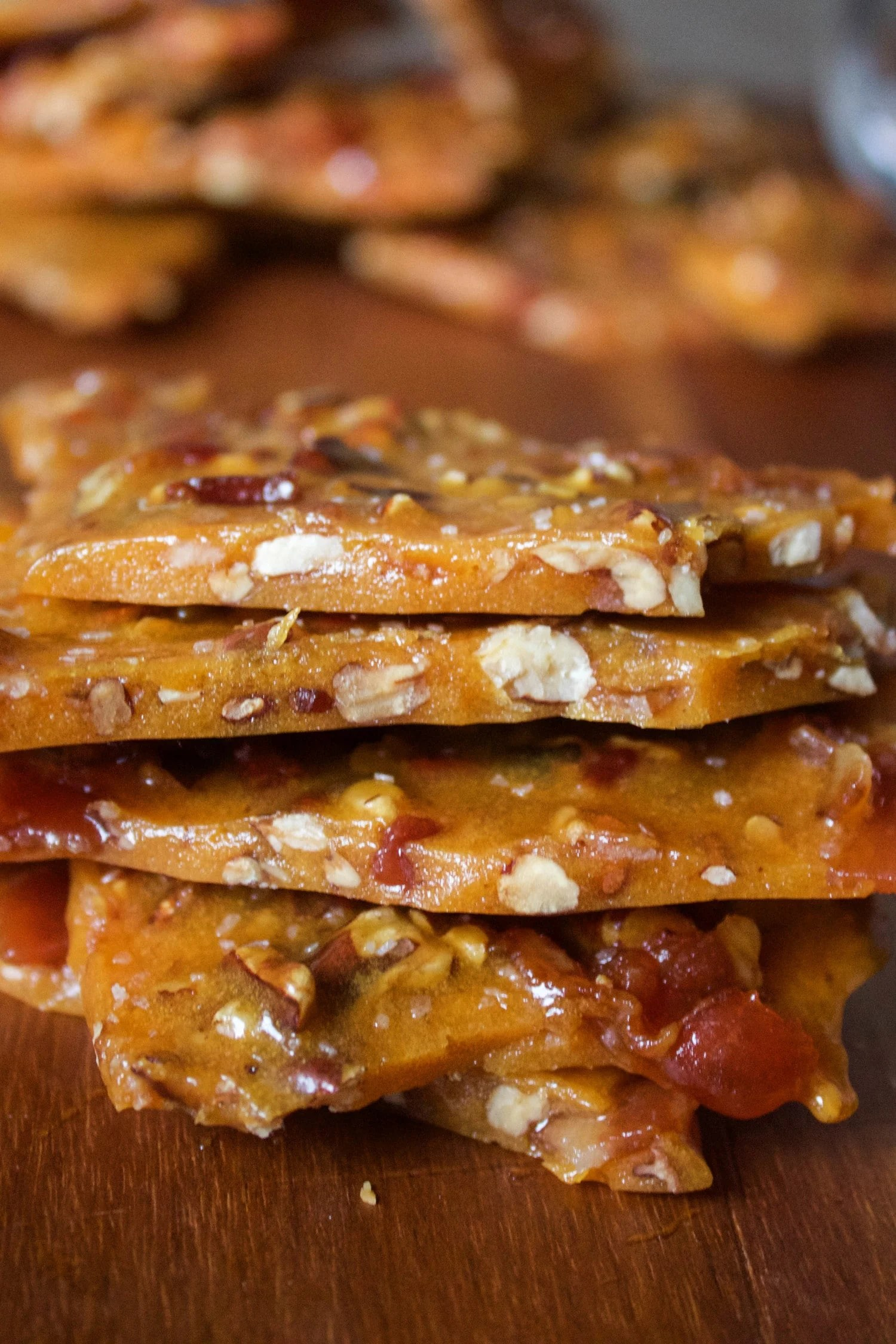 Bourbon Bacon Brittle | What Molly Made