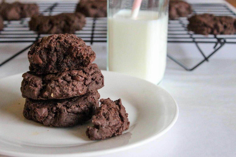 chocolate+lovers+quadruple+fudge+pudding+cookie