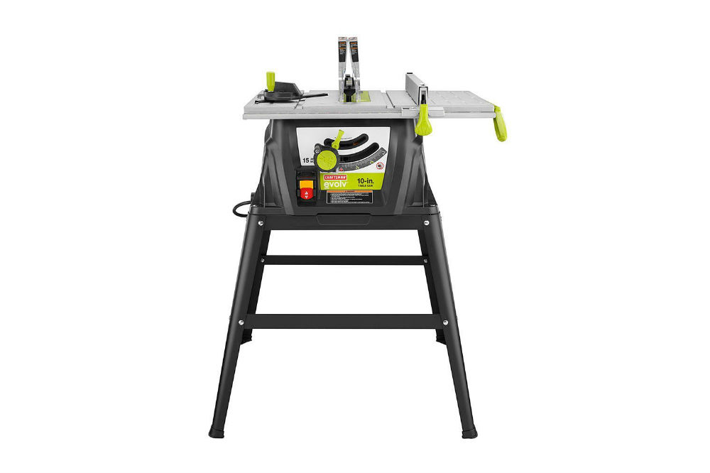 Craftsman Evolv 15 Amp 10 In. Table Saw 28461 Review