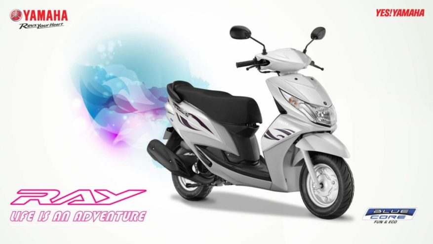 best scooty yamaha ray z