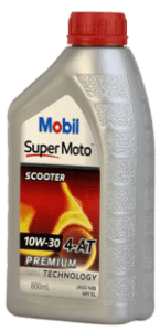 Mobil Super Moto 10W 30 scooter oil