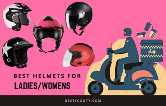 best helmet for ladies in india