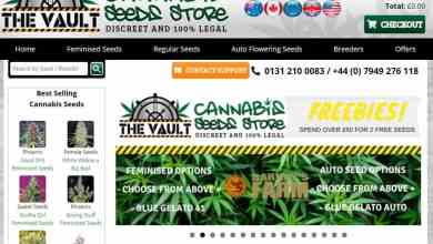Photo of The Vault Cannabis Seeds Store Review