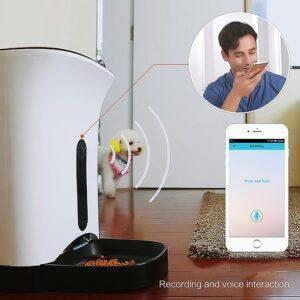 GemPet SmartFeeder automatic food dispenser and pet monitor