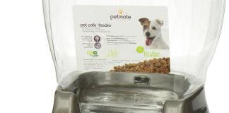 pet cafe food dispenser