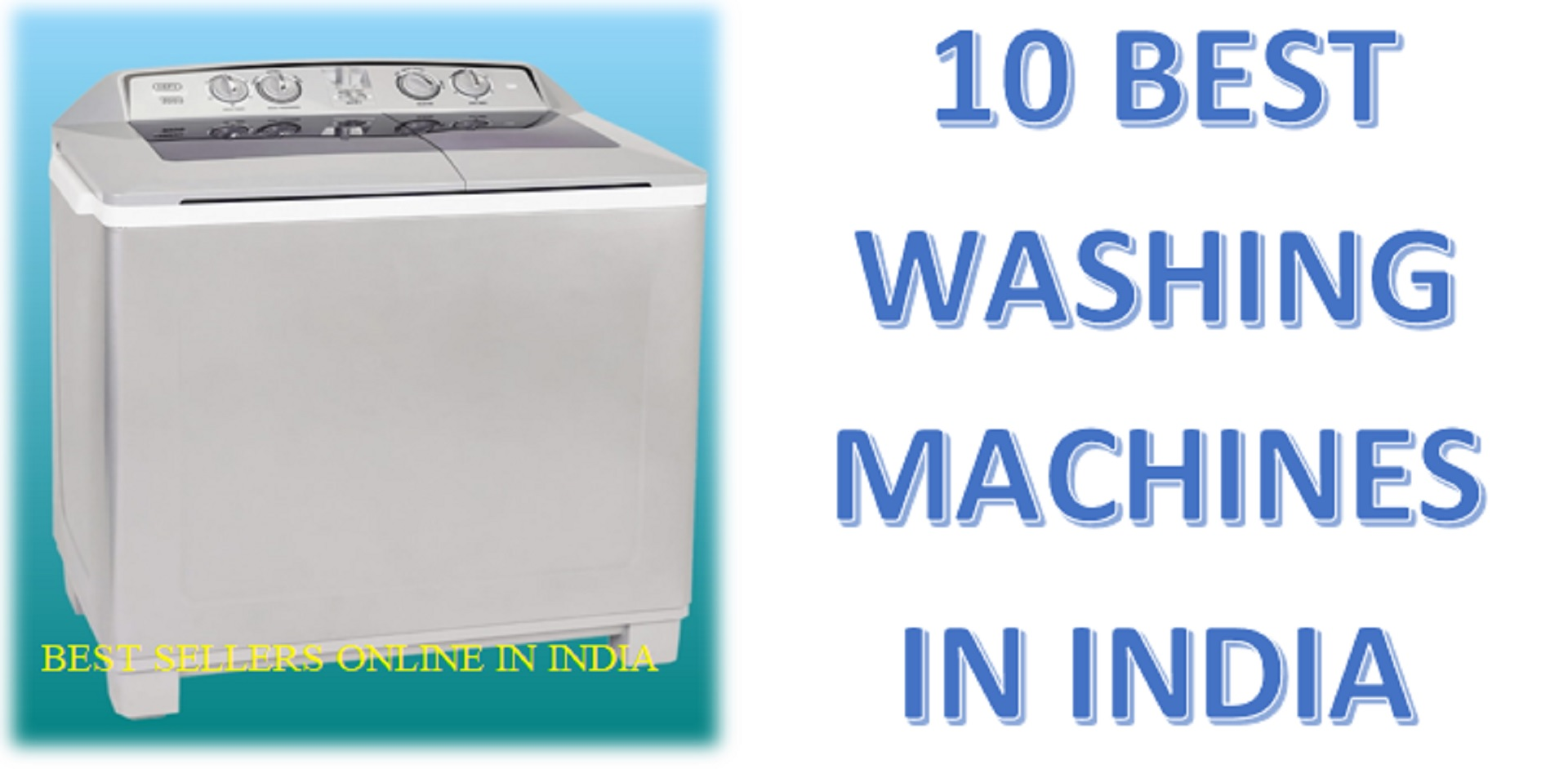 10 Best Washing Machines in India 2020 Reviews & Features