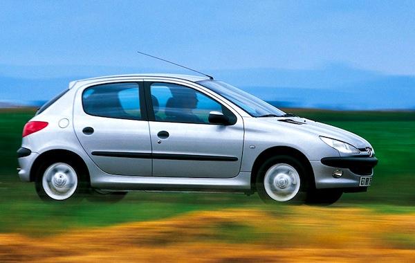 Peugeot 206 Spain 2001