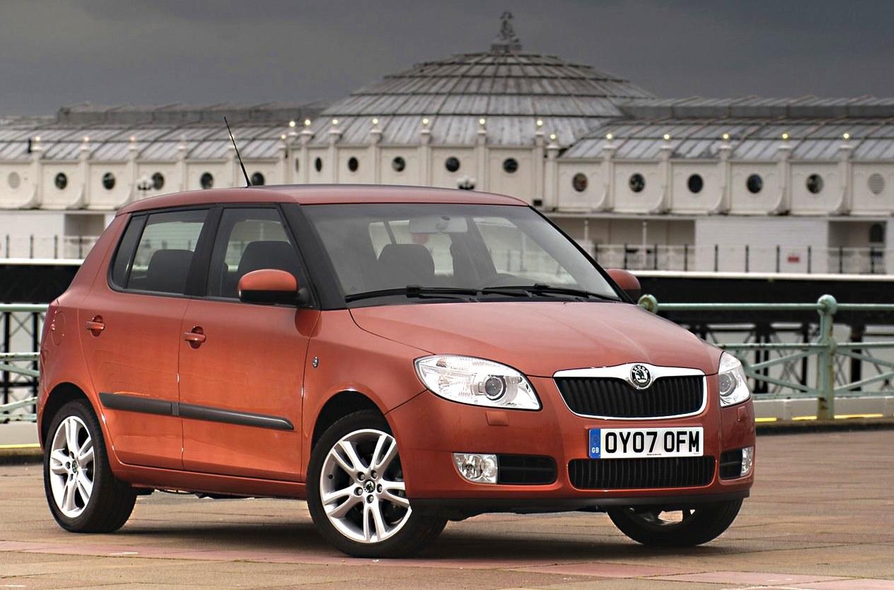 denmark 2008 skoda fabia and toyota aygo most popular best selling cars blog. Black Bedroom Furniture Sets. Home Design Ideas