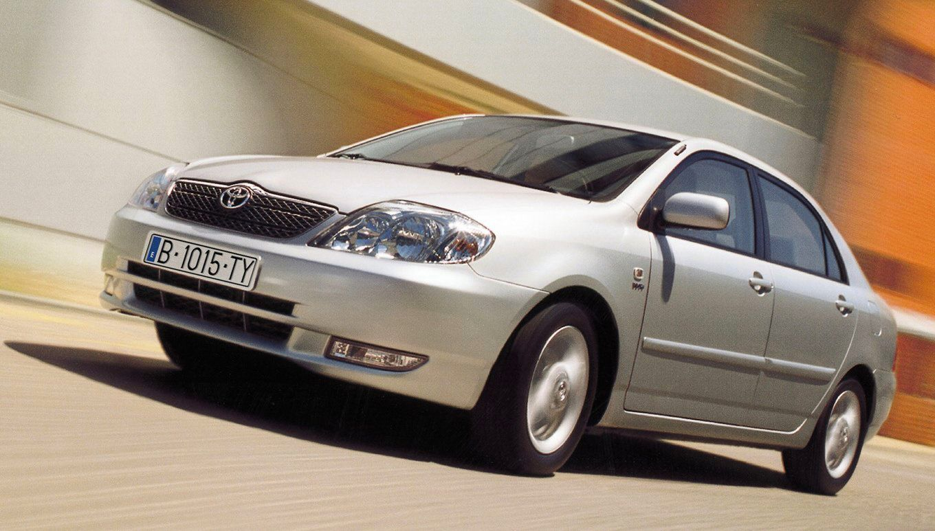 Japan 2001 Year 33 Of The Toyota Corolla Reign Best