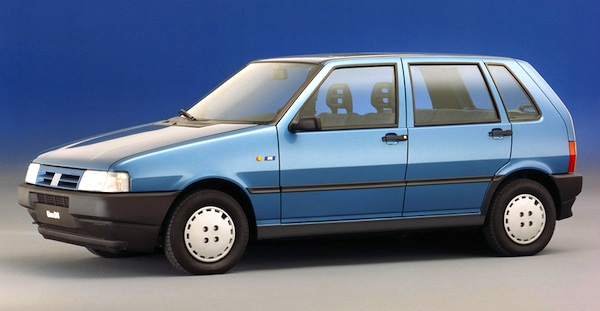 Italy 1990 Fiat Uno Keeps Pole Position Podium Unchanged Best