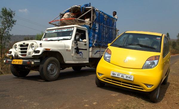 Tata Nano India April 2011