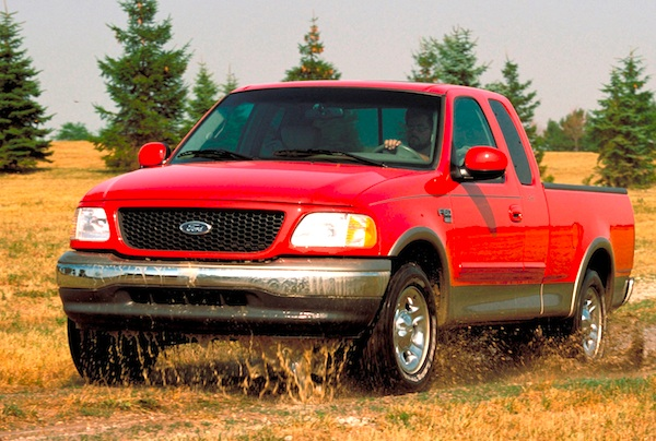 USA 1999: Ford F-Series, Chevrolet C/K & Toyota Camry on ...
