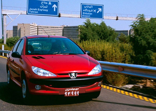 Peugeot 206 Iran December 2013