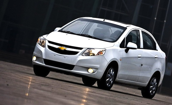 Chevrolet Sail Chile 2014