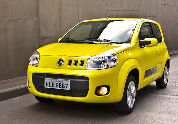 Brazil Mid October 2011 Fiat Uno Leader Of Eventful Ranking Best