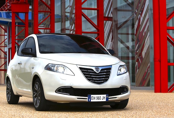 Lancia Ypsilon Italy July 2013