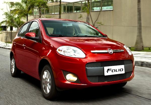 Fiat Palio Argentina May 2014