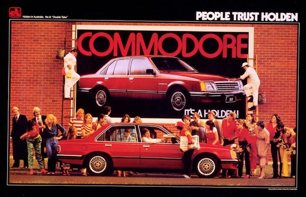People Trust Holden, Commodore, Double Take