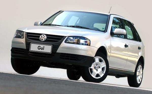 VW Gol Power Brazil March 2014