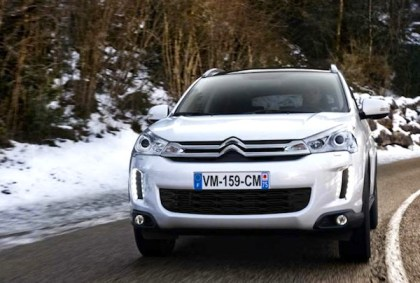 Citroen C4 Aircross. Picture courtesy of Citroen