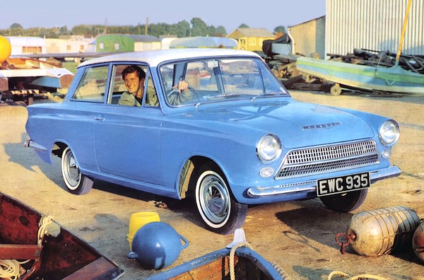 Ford Cortina Greec 1963