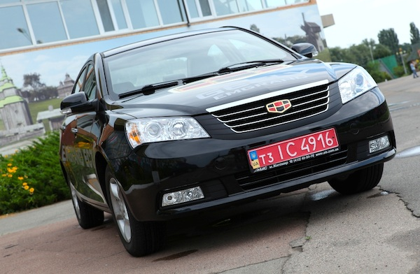 Geely Emgrand 7 Ukraine May 2014