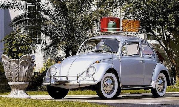VW Beetle USA 1968